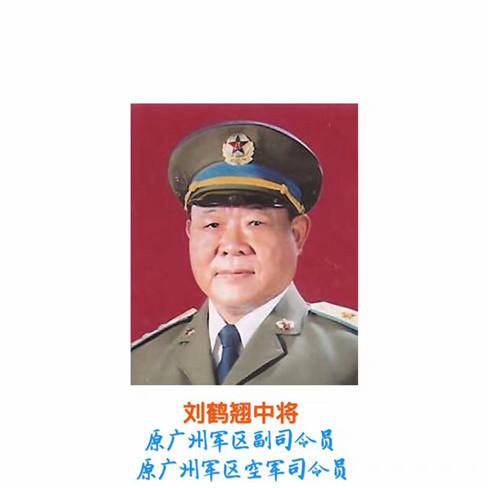 (编号22)善拍预览・原广州军区空军司令员刘鹤翘中将墨宝藏品