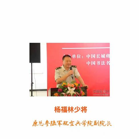 (编号39)善拍预览・原总参陆军航空兵学院副院长杨福林少将墨宝藏品